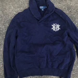 Polo Ralph Lauren shawl sweater nautical